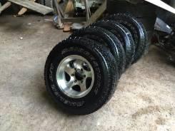 Bridgestone Dueler A/T. Всесезонные, 2005 год, износ: 10%, 4 шт