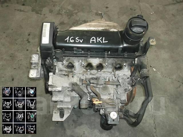 двигатель фольксваген гольф 4 1.6