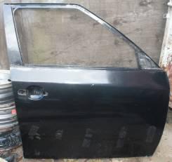 Дверь правая передняя Skoda Fabia 5J 5J6831052 черная 2011