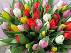 Требуется девушка на 6,7,8 марта(продажа тюльпанов)