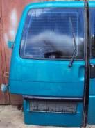 Дверь задняя левая VW T4 701827103 701827103A зеленая со стеклом