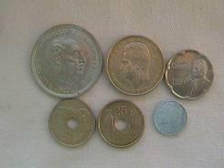 Испания, набор 6-ть монет.