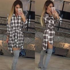 Платья-рубашки. 38, 40, 42, 44, 46. Под заказ