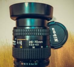 Объектив nikkor AF 28-70мм f/3.5-4.5