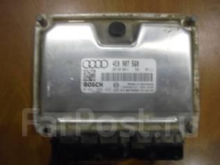 Блок управления двс. Audi A8