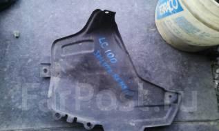 Защита топливного бака. Toyota Land Cruiser, UZJ100 Двигатель 2UZFE