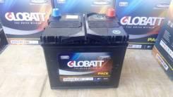Globatt. 80 А.ч., правое крепление, производство Корея