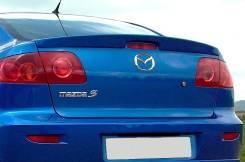 Спойлер. Mazda Mazda3, BK Mazda Mazda3 MPS, BK
