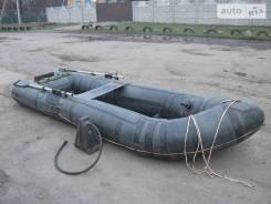Продам лодку десантную НЛ 8 новая с хранения. длина 6,00м., двигатель подвесной, бензин