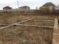 Продам земельный участок с фундаментом. 2 000кв.м., собственность, электричество, от частного лица (собственник). Фото участка