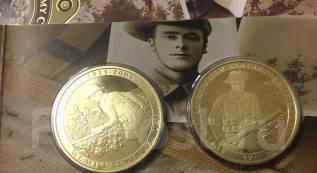 2005 Новая Зеландия Австралия 90th юбилей две монеты комплект