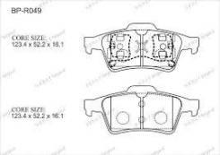 Колодка тормозная дисковая. Renault Laguna Renault Megane Renault Espace Renault Vel Satis Nissan Primera Двигатели: F9Q, M9R, G9T, F4P, F5R, F4R, K4M...