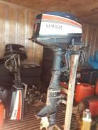 Yamaha. 6,00л.с., 2х тактный, бензин, нога L (508 мм), Год: 1996 год
