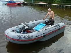Tohatsu. длина 4,00м., двигатель подвесной, 18,00л.с., бензин