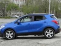 Ветровик на дверь. Opel Mokka