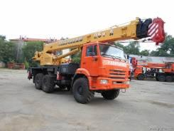 Галичанин КС-55713-5В. Автокран кс-55713-5В, 10 850 куб. см., 25 000 кг., 28 м.