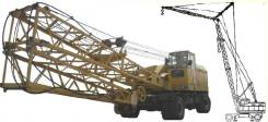 К, 1991. Пневмоколесный кран КС-5363 В, 36 000 кг., 36 м.