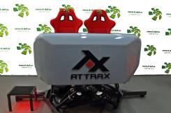 AttraX - двухместный аттракцион VR в виртуальном шлеме с джойстиком