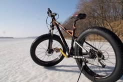 Fatbike фэтбайк. Горный велосипед. 27 скор. Гидавлика. Новый.