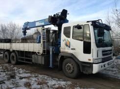 Daewoo Novus. Продам грузовик манипулятор, 12 000 куб. см., 15 000 кг., 24 м.