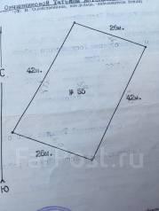 Продам дачный участок. 1 092 кв.м., собственность, электричество, от агентства недвижимости (посредник). Схема участка