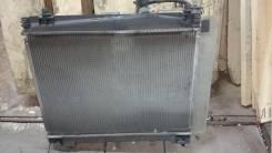 Радиатор охлаждения двигателя. Toyota Vitz, SCP90 Двигатель 2SZFE