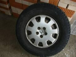 Bridgestone Winter Dueler DM-Z2. Всесезонные, износ: 30%, 3 шт
