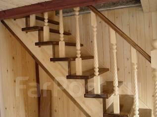 Изготовление деревянных лестниц, арки, дверные проемы и т. д.