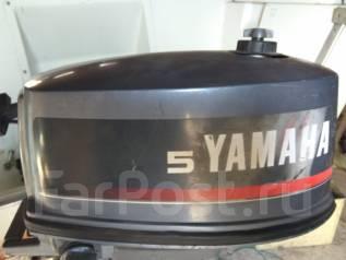 Yamaha. 5,00л.с., 2х тактный, бензин, нога L (508 мм), Год: 1997 год