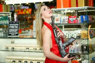 Лучший подарок мужчине на 23 февраля! Шоколадный АК-47 со скидкой!