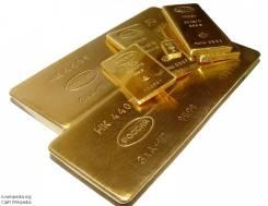 Слитки из драгоценных металлов. Под заказ