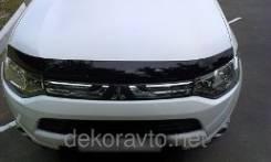 Дефлектор капота. Mitsubishi Outlander
