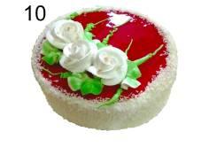 Торты в ассортименте (Сливки) по цене в 245р.
