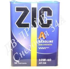 ZIC A. Вязкость 10W-40, полусинтетическое