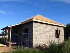 Строительство из отсево блока под ключ. проект в допарок