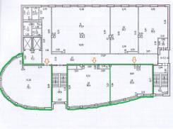 Три офиса в центре по 650 руб/кв. м. 205 кв.м., улица Льва Толстого 12, р-н Центральный