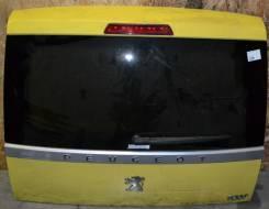 Дверь багажника. Peugeot 1007