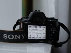 Sony Alpha DSLR-A230. 10 - 14.9 Мп, зум: без зума