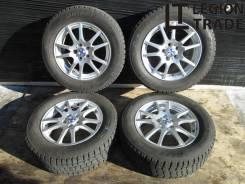 "Зима. Комплект колес 195/65R15 5x100 ET43 15x6JJ Bridgestone Blizzak. 6.0x15"" 5x100.00 ET43"