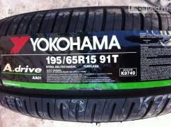 Yokohama A.Drive AA01. Летние, 2017 год, без износа, 4 шт