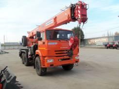 Клинцы КС-55713-5К. КС 55713-5К-1 автокран 25т. (Камаз-43118), 25 000 кг., 21 м.