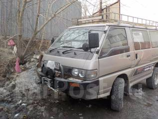 Mitsubishi Delica. автомат, 4wd, 2.4 (120 л.с.), дизель, 120 000 тыс. км