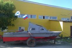 Волга. длина 7,50м., двигатель стационарный, дизель