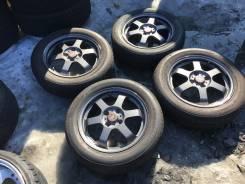 Лёгенькие Японские Диски Bridgestone+ летняя резина Bridgestone Nextry. 5.0x15 4x100.00 ET45 ЦО 73,0мм.