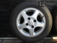 "Лето. Комплект колес 195/65R14 4x114,3 ET45 14x6J Yokohama Ecos. 6.0x14"" 4x114.30 ET45"