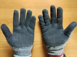 Перчатки резиновые.