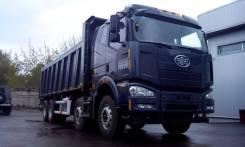 FAW J5P8x4 CA3312P2K2LT4E. Самосва FAW J6 CA3310 8x4, 11 000 куб. см., 42 600 кг.