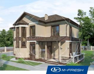 M-fresh Comfort Progressive (Ярко жить на природе всей семьёй! ). 200-300 кв. м., 2 этажа, 5 комнат, кирпич