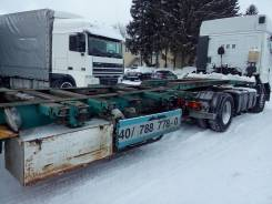 Krone SDC27. Полуприцеп контейнеровоз универсальный-раздвижной, 41 000 кг.