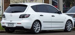 Порог пластиковый. Mazda Mazda3, BK Mazda Mazda3 MPS, BK